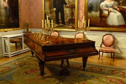 Visita guiada al Museo del romanticismo.La fisgona