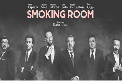 Smoking-room. Teatro Kamikaze