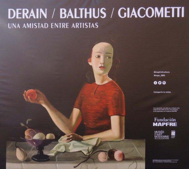 Derain, Balthus, Giacometti. Una amistad entre artistas