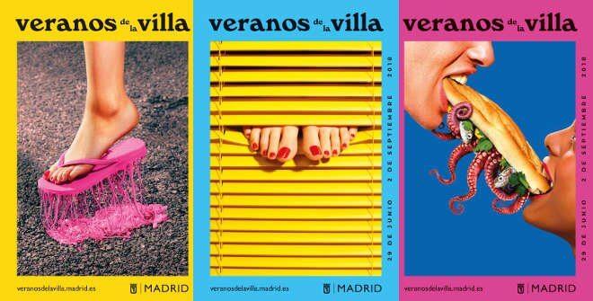 Veranos de la villa 2018 Madrid