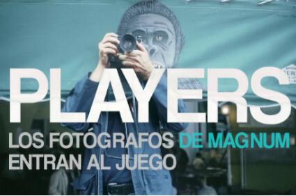 Players. Los fotógrafos entran en juego