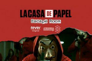 Escape Room la casa de papel