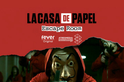 Escape Room la casa de papel