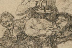 Visita guiada Dibujos de Goya Solo la voluntad me sobra