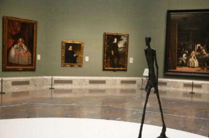 exposición Giacometti en el Prado