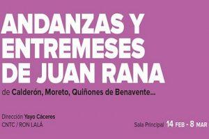 Vamos al teatro Andanzas y entremeses de Juan Rana